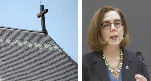 Escuela Cristiana demanda a la Governadora Kate Brown.