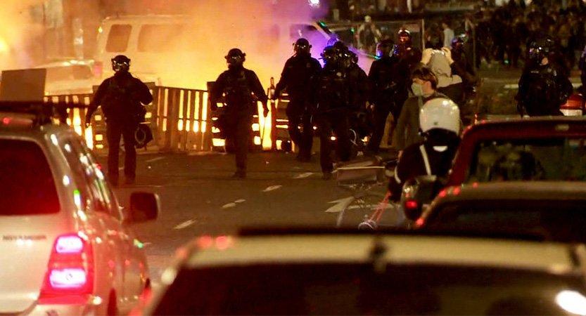 You are currently viewing Arrestos tras protesta en Portland